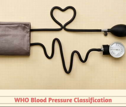 WHO and Blood pressure guidelines